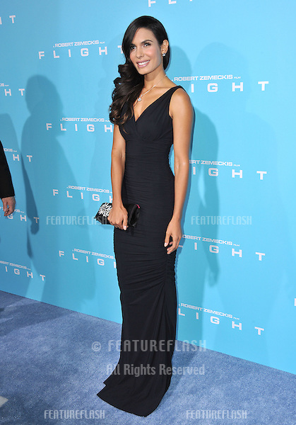 "Nadine Velazquez at the Los Angeles premiere of her new movie ""Flight"" at the Cinerama Dome, Hollywood..October 23, 2012  Los Angeles, CA.Picture: Paul Smith / Featureflash"