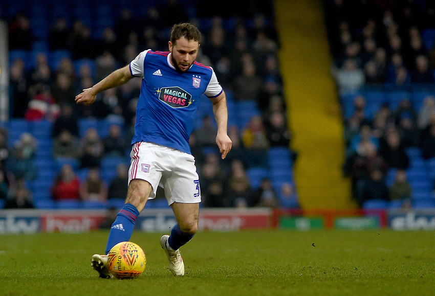 Ipswich Town's Alan Judge<br /> <br /> Photographer Hannah Fountain/CameraSport<br /> <br /> The EFL Sky Bet Championship - Ipswich Town v Stoke City - Saturday 16th February 2019 - Portman Road - Ipswich<br /> <br /> World Copyright © 2019 CameraSport. All rights reserved. 43 Linden Ave. Countesthorpe. Leicester. England. LE8 5PG - Tel: +44 (0) 116 277 4147 - admin@camerasport.com - www.camerasport.com