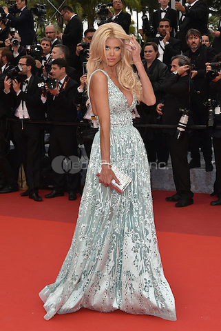 Victoria Silvstedt arrives at 'Ma Loute' screening at 69th International Cannes Film Festival, France<br /> May 2010<br /> CAP/PL<br /> &copy;Phil Loftus/Capital Pictures /MediaPunch ***NORTH AND SOUTH AMERICA ONLY***