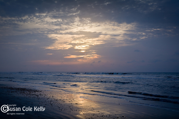 Carolina Coast sunrise, Isle of Palms, SC, USA