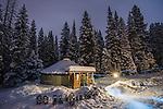 Solitude Yurt Winter