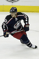 20 October 2006: Columbus Blue Jackets' Nikolai Zherdev plays against the Toronto Maple Leafs at Nationwide Arena in Columbus, Ohio.<br />