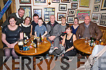 Kieran McCarthy, Muckross Drive, Killarney, 4th from left pictured with his family as he celebrated his 40th birthday in Corkerys Bar, Killarney on Saturday night