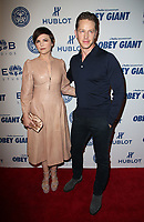 LOS ANGELES, CA - NOVEMBER 7: Ginnifer Goodwin, Josh Dallas, at Photo Op For Hulu's 'Obey Giant at the The Theatre at Ace Hotel in Los Angeles, California on November 7, 2017. <br /> CAP/MPI/FS<br /> &copy;FS/MPI/Capital Pictures