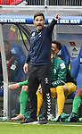 05.10.2019,  GER; 2. FBL, Hamburger SV vs SpVgg Greuther Fuerth ,DFL REGULATIONS PROHIBIT ANY USE OF PHOTOGRAPHS AS IMAGE SEQUENCES AND/OR QUASI-VIDEO, im Bild Trainer Stefan Leitl (Fuerth) Foto © nordphoto / Witke