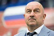 17th June 2017, St Petersburg, Russia; FIFA 2017 Confederations Cup football, Russia versus New Zealand; Group A - Saint Petersburg Stadium,  Russia's coach Stanislav Cherchesov pictured before the Confederations Cup Group A soccer match between Russia and New Zealand at the stadium in Saint Petersburg, Russia, 17 June 2017.