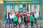 Manchester Trip : Members of the Knockdown/Athea branch of the Abbeyfeale & District Manchester United Siupporters Club pictured outside the Gables, Athea on Good Friday prior to their departure for Manchester .