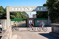 Abbiategrasso (Milano), fabbrica di televisori Mivar --- Abbiategrasso (Milan), Mivar television factory
