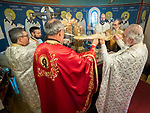 Divine Liturgy and Slava of St. Sebastian of Jackson, St. Sava Serbian Orthodox Church, California, on the day of his feast, November 30, 2018.