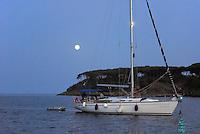 - yachts anchored in the gulf of Portoferraio, Elba island....- yachts ancorati nella rada di Portoferraio, isola d'Elba