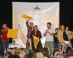 SKIT - GL actors and fans on stage - So Long Springfield event celebrating 7 wonderful decades of Guiding Light which brought out Guiding Light Actors as they  came to see fans at the Hyatt Regency in Pittsburgh, PA. for Q & A, acting scenes between actors and fans by GL finest during the weekend of October 25, 2009. (Photo by Sue Coflin/Max Photos)