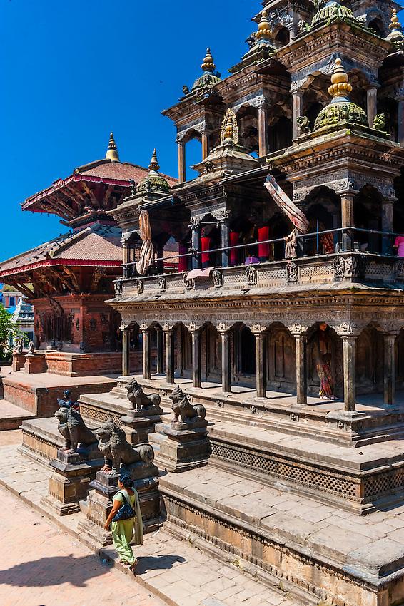 Durbar Square (A UNESCO World Heritage Site), Patan (Lalitpur), Nepal.