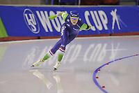 SPEEDSKATING: CALGARY: 15-11-2015, Olympic Oval, ISU World Cup, 500m, Jorien ter Mors (NED), ©foto Martin de Jong