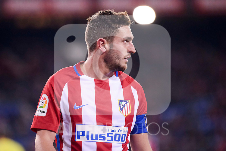 Atletico de Madrid's Koke Resurrección during Copa del Rey match between Atletico de Madrid and SD Eibar at Vicente Calderon Stadium in Madrid, Spain. January 19, 2017. (ALTERPHOTOS/BorjaB.Hojas)