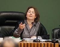 Processo  contro la presunta compravendita dei senatori <br /> nella foto  il giudice Loredana Acierno