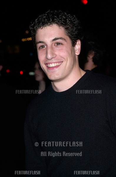 Actor JASON BIGGS at the Los Angeles premiere of Say It Isn't So..12MAR2001.   © Paul Smith/Featureflash
