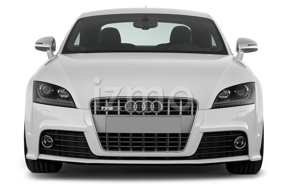 Straight front view of a 2008 - 2010 Audi TTS 3 Door Coupe 2WD