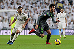 Real Madrid's Carlos Henrique Casemiro and Real Sociedad's Mikel Merino during La Liga match between Real Madrid and Real Sociedad at Santiago Bernabeu Stadium in Madrid, Spain. January 06, 2019. (ALTERPHOTOS/A. Perez Meca)<br />  (ALTERPHOTOS/A. Perez Meca)