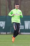 14.04.2018, Trainingsgelaende, Bremen, GER, 1.FBL, Training SV Werder Bremen<br /> <br /> im Bild<br /> Milot Rashica (Werder Bremen #11), <br /> <br /> Foto &copy; nordphoto / Ewert