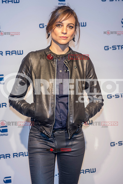 Spanish actress and singer Leonor Waitling poses for the photographers as the new image of the famous clothing company.<br />  2015 at the G-Star Raw Boutique in Madrid, Spain. january 29, 2015. (ALTERPHOTOS/Sirocco) /nortephoto.com<br />