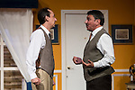 """Victor Benedé and Jose Luis Gago at """"Usted puede ser un asesino"""" Theater play in Muñoz Seca Theater, Madrid, Spain, September 07, 2015. <br /> (ALTERPHOTOS/BorjaB.Hojas)"""