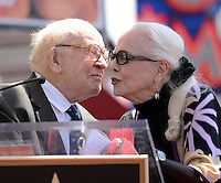 Barbara Bain + Ed Asner @ her Walk of Fame ceremony held @ 6767 Hollywood blvd.<br /> April 28, 2016