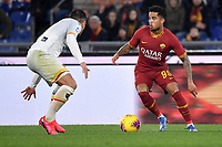 Justin Kluivert of AS Roma <br /> Roma 23/02/2020 Stadio Olimpico <br /> Football Serie A 2019/2020 <br /> AS Roma - Lecce<br /> Photo Andrea Staccioli / Insidefoto