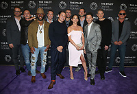 "29 March 2017 - Beverly Hills, California - Paul Adelstein, Robert Knepper, Rockmond Dunbar, Augustus Prew, Inbar Lavi, Mark Feuerstein, Wentworth Miller, Dominic Purcell. 2017 PaleyLive LA Spring Season - ""Prison Break"" Screening And Conversation held at The Paley Center for Media. Photo Credit: AdMedia"