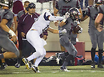 Torrance, CA 09/25/15 - Robert Gutierrez (Torrance #6) in action during the El Segundo - Torrance varsity football game at Zamperini Field of Torrance High School