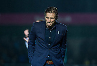 Wycombe Wanderers Manager Gareth Ainsworth as his team trail 2-0 during the Sky Bet League 2 match between Wycombe Wanderers and Morecambe at Adams Park, High Wycombe, England on 2 January 2016. Photo by Andy Rowland / PRiME Media Images
