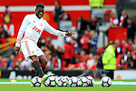 Timothy Fosu-Mensah of Manchester United warms up during the Premier League match at Old Trafford Stadium, Manchester. Picture date: September 24th, 2016. Pic Sportimage