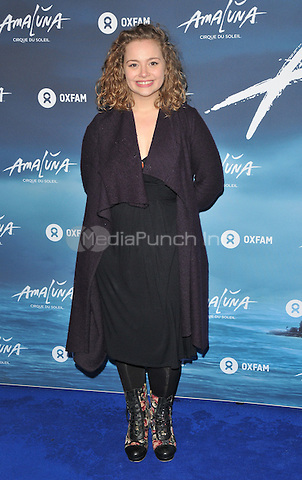 Carrie Hope Fletcher at the &quot;Cirque du Soleil: Amaluna&quot; press night, Royal Albert Hall, Kensington Gore, London, England, UK, on Thursday 12 January 2017.  <br /> CAP/CAN<br /> &copy;CAN/Capital Pictures /MediaPunch ***NORTH AND SOUTH AMERICAS ONLY***