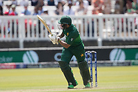 Imam-ul-Haq (Pakistan) plays to leg before stepping on his wicket during Pakistan vs Bangladesh, ICC World Cup Cricket at Lord's Cricket Ground on 5th July 2019