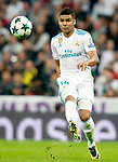 Real Madrid's Carlos Henrique Casemiro during Champions League Group H match 3. October 17,2017. (ALTERPHOTOS/Acero)