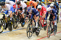 Picture by SWpix.com - 03/03/2018 - Cycling - 2018 UCI Track Cycling World Championships, Day 4 - Omnisport, Apeldoorn, Netherlands - Men's Omnium Scratch Race - Benjamin Thomas of France