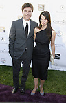 Actor Jason Bateman and wife Amanda Anka arrive at 7th Annual Chrysalis Butterfly Ball on May 31, 2008 at a Private Residence in Los Angeles, California.