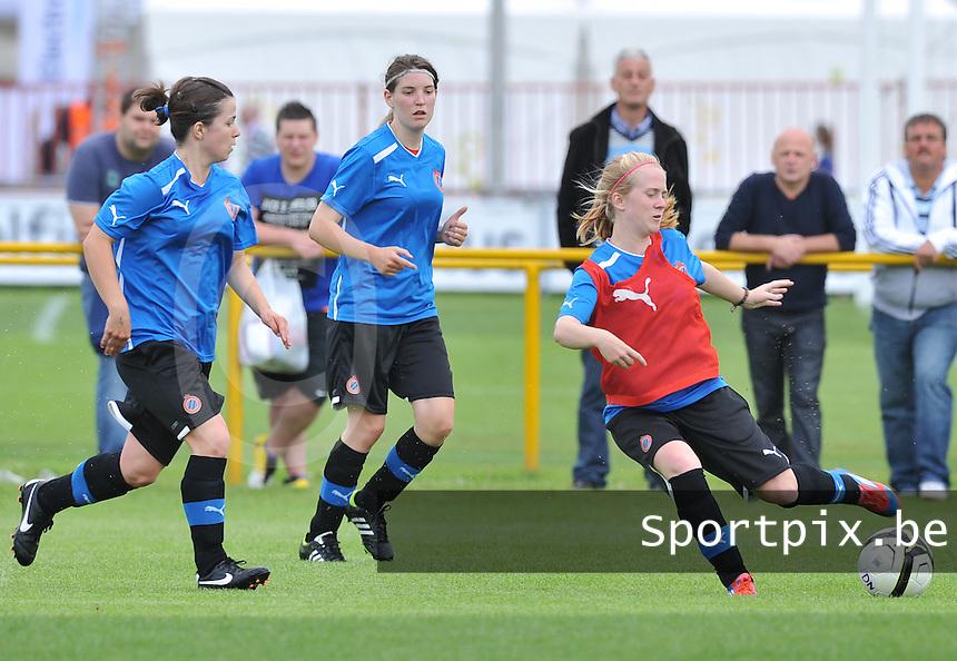 eerste training Club Brugge Dames : Silke Demeyere.foto DAVID CATRY / Vrouwenteam.be