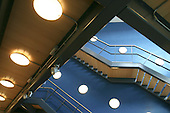Staircases in the Dorothy Jackson building at the University of Surrey, Guildford