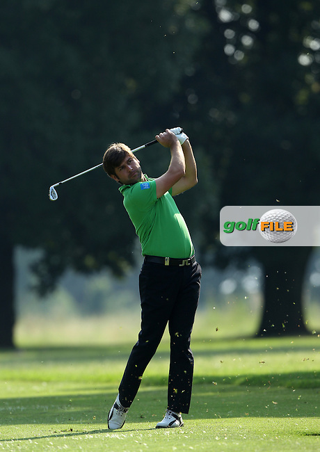 JOHANNESBURG, SOUTH AFRICA - JANUARY 13, Robert Rock during day 2 of the Joburg Open from the Royal Johannesburg and Kensington Golf Club on January 13, 2012 in Johannesburg, South Africa...Photo by Luke Walker www.golffile.ie