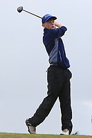Cian O'Connor (Roscommon) on the 10th tee during the Final round in the Connacht U16 Boys Open 2018 at the Gort Golf Club, Gort, Galway, Ireland on Wednesday 8th August 2018.<br /> Picture: Thos Caffrey / Golffile<br /> <br /> All photo usage must carry mandatory copyright credit (&copy; Golffile   Thos Caffrey)
