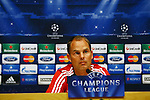 UEFA Champions League 2013/2014.<br /> Press Conference and Training (Ajax).<br /> Frank de Boer.