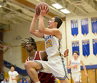 Madison La Follette at Madison West Wisconsin WIAA boys high school basketball 1/24/20