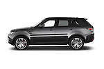 Car Driver side profile view of a 2015 Land Rover RANGE ROVER SPORT HSE Dynamic 5 Door SUV Side View