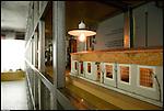 Sogno di luce, museo della lampadina nella vecchia fabbrica di costruzione lampadine di Alessandro Cruto. Il modellino del primo laboratorio.