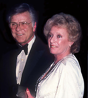 Jackie Cooper and wife 1983<br /> Photo By John Barrett/PHOTOlink