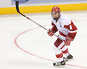 Joe Pavelski - The University of Wisconsin Badgers defeated the University of Maine Black Bears 5-2 in their 2006 Frozen Four Semi-Final meeting on Thursday, April 6, 2006, at the Bradley Center in Milwaukee, Wisconsin.  Wisconsin would go on to win the Title on April 8, 2006.