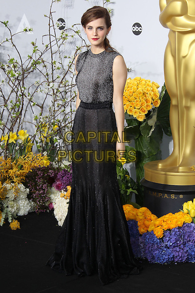 02 March 2014 - Hollywood, California - Emma Watson. 86th Annual Academy Awards held at the Dolby Theatre at Hollywood &amp; Highland Center. <br /> CAP/ADM/RE<br /> &copy;Russ Elliot/AdMedia/Capital Pictures