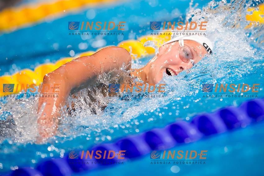 Leonie Antonia Beck GER<br /> Women's 1500m freestyle heats<br /> Swimming<br /> 15th FINA World Aquatics Championships<br /> Barcelona 19 July - 4 August 2013<br /> Palau Sant Jordi, Barcelona (Spain) 29/07/2013 <br /> &copy; Giorgio Perottino / Deepbluemedia.eu / Insidefoto