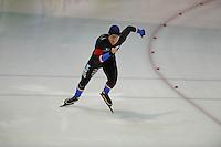 SCHAATSEN: GRONINGEN: 28-10-2016, Sportcentrum Kardinge, KNSB Cup Kwalificatiewedstrijden, Sjoerd de Vries, ©foto Martin de Jong