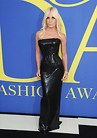 BROOKLYN, NY - JUNE 4: Donatella Versace at the 2018 CFDA Fashion Awards at the Brooklyn Museum in New York City on June 4, 2018. <br /> CAP/MPI/JP<br /> &copy;JP/MPI/Capital Pictures